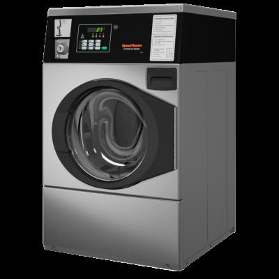 Go laundry store Huebsch machine