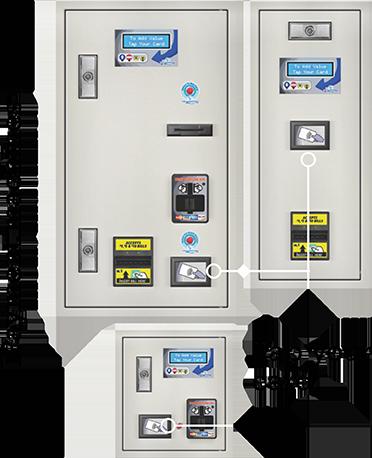 Laundromats payment machine